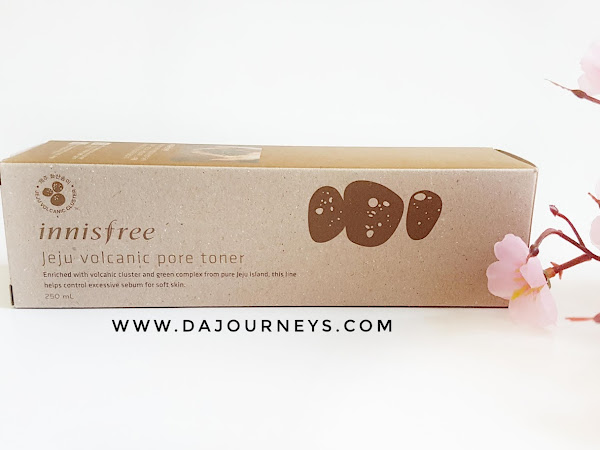 [Review] Innisfree Jeju Volcanic Pore Toner