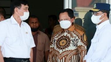 Beresin Ibu Kota Malut, Menko Luhut & 3 Menteri Ke Sofifi