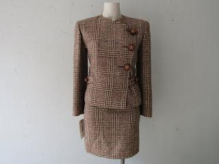 Vintage Valentino Boutique Wool Suit