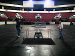 The ping pong escalates to an arena match!