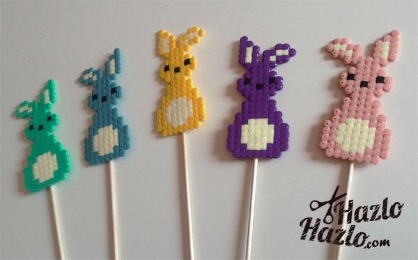 Conejitos de Hama Beads