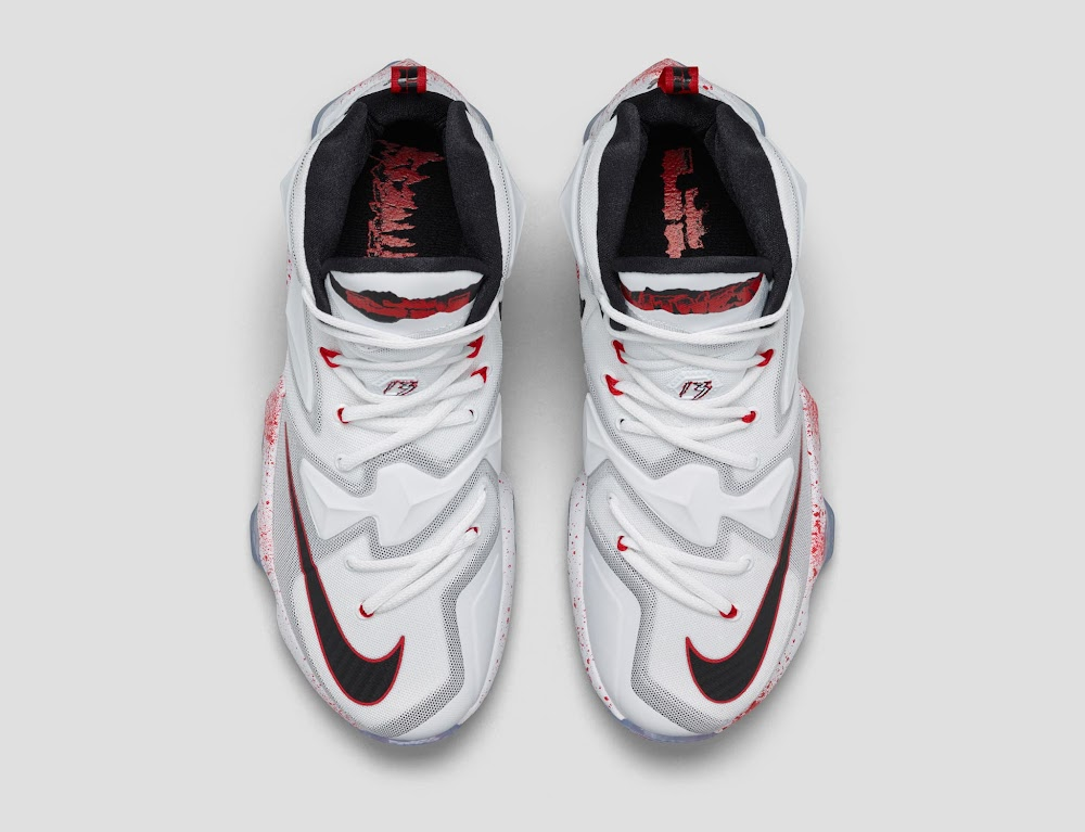competitive price aa925 f8ee7 ... Official Look at Friday the 13th LeBron 13 aka Horror Flick ...