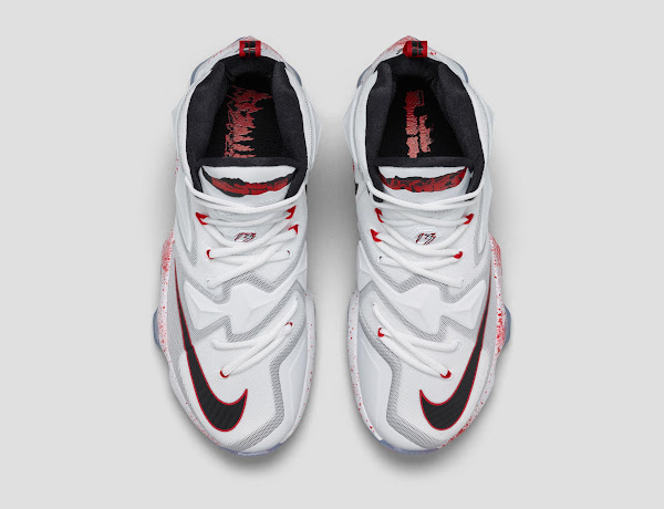 Official Look at Friday the 13th LeBron 13 aka Horror Flick