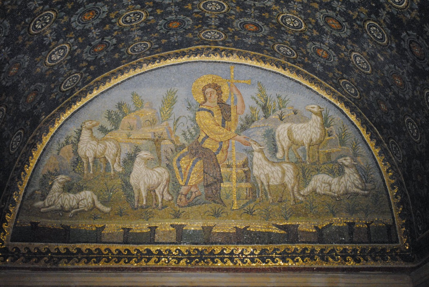 My Photos: Italy -- Mosaics -- Ravenna -- Mausoleum of Galla Placidia