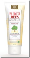 Burts Bees Ultimate Care Body Lotion