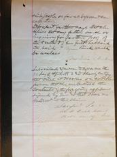 Delia A. Hooker的宣誓书,1883年4月24日,P. 3.
