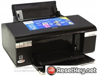 Resetting Epson R295 printer Waste Ink Pads Counter