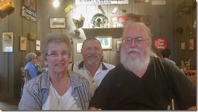 Marcia, Byron, Dave