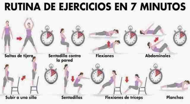 Rutina de ejercicios diarios