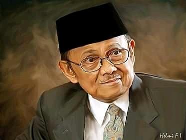 Pak Habibie Menulis Novel