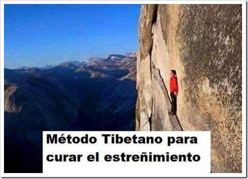 metodo tibetano contra el estreñimiento