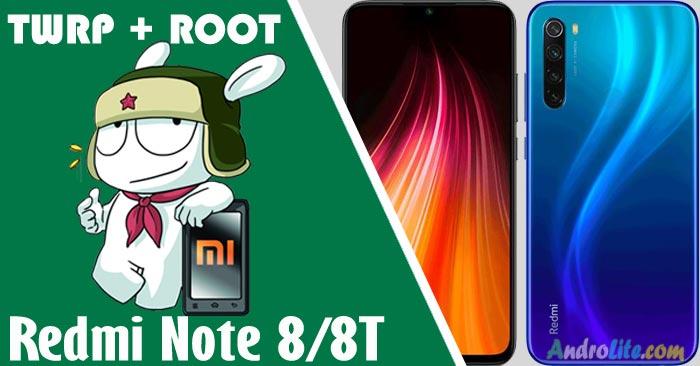 Install TWRP + Root Redmi Note 8/8T Dengan/Tanpa PC