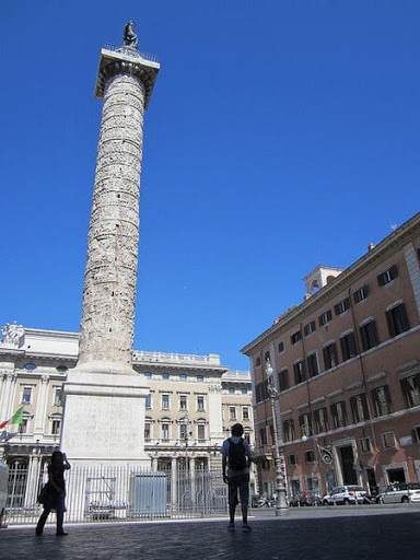 Trajan's Column. From My 7 Favourite Ancient Sites in Rome