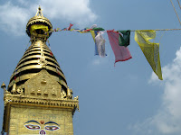 Swayambhunath - aka the Monkey Temple - Kathmandu