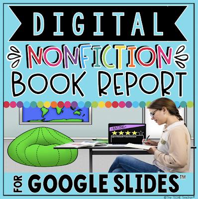 Digital Nonfiction Book Report Template