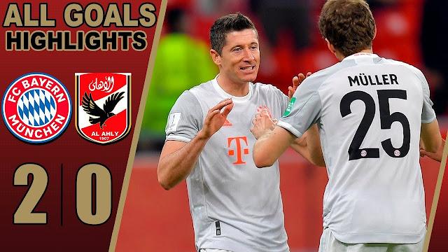Bayern Munich Berjaya kalahkan Al Ahly dalam FIFA Piala Antara Kelab Dunia 2021.