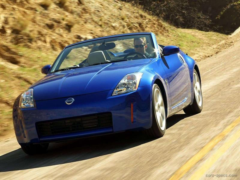 2004 nissan 350z convertible specifications pictures prices. Black Bedroom Furniture Sets. Home Design Ideas