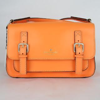 Kate Spade Safety Orange Crossbody Satchel