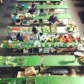 On market by Oliver Švob - Instagram & Mobile Android ( tokai art station, instagram, market, vegetables, croatia, snapshot by malioli, urban living, people, sale,  )