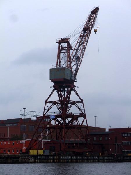 Crane to remain