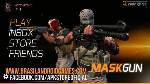 Download MaskGun - Multiplayer FPS v2.06 APK Full - Jogos Android