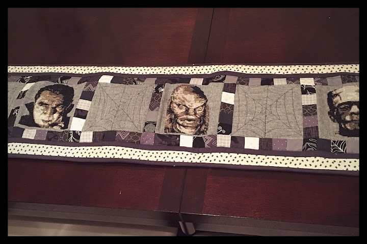 Classic monster table runner