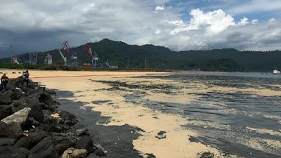 Cemari Teluk Bayur Dengan Minyak Sawit, Tindak Tegas Perusahaan