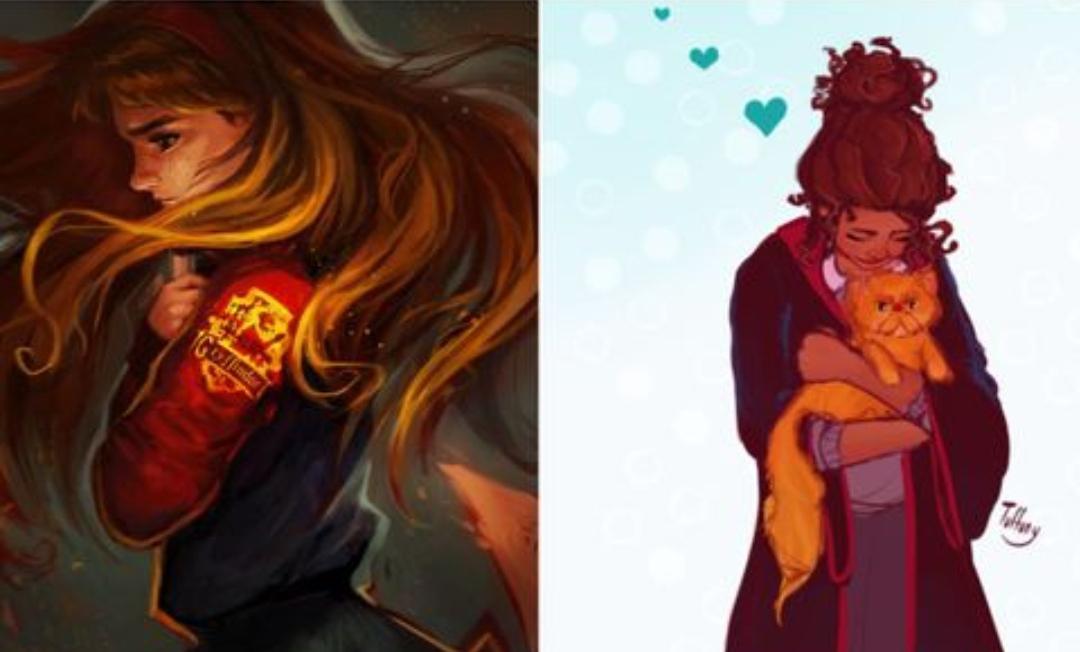 harry potter 10 obras de arte feitas por fas hermione granger dignas da bruxa mais brilhante da sua idade hermione granger dignas da bruxa