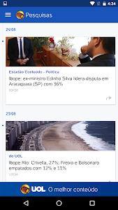 UOL Eleições 2016 – Apuração screenshot 2