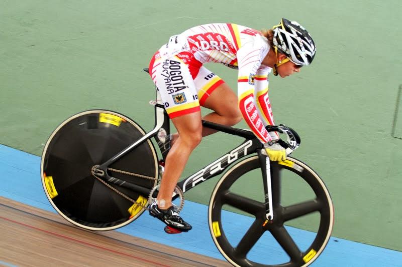 Milena Salcedo. La ciclista de la capital destacó en los Juegos XIX Nacionales de 2012.