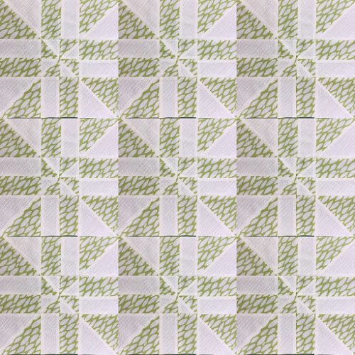 Block 7: Disappearing pinwheel quilt sampler