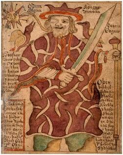 Вороны Хугин и Мунин (от древнескандинавских слов «мысль» и «память» или «разум») – спутники Одина, верховного бога в германо-скандинавской мифологии