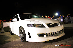 Honda Accord with Mugen grill