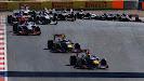 Sebastian Vettel VS Mark Webber 1st corner after start