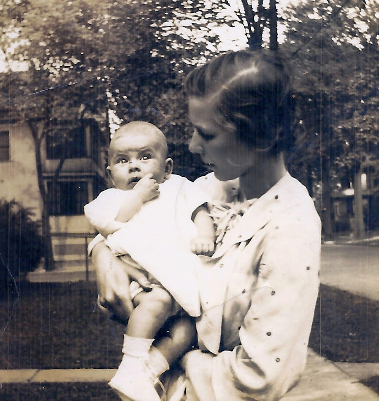 With baby Martha in 1936