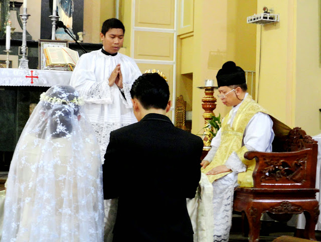 Catholic Wedding Traditions.A Traditional Catholic Wedding In Tunasan San Pedro With