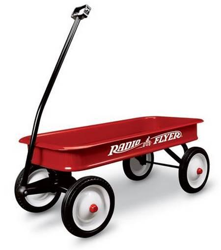 chariot acier 'Radio Flyer' pour enfant