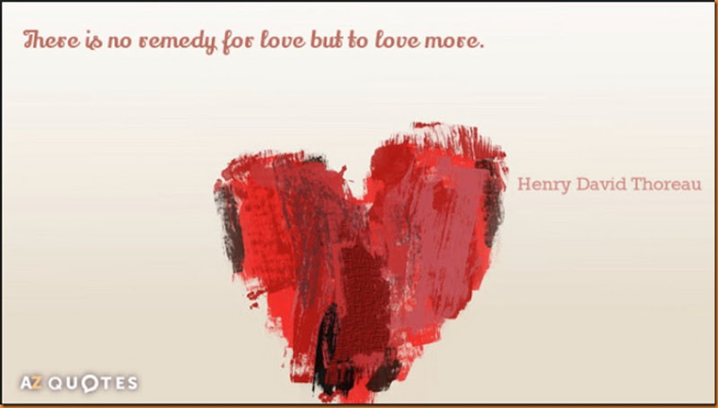 thoreau love remedy