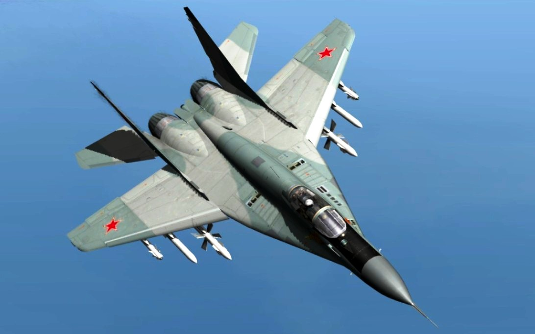 MiG-29 Fulcrum jet fighter wallpaper 1