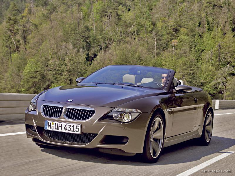 2010 BMW M6 Convertible Specifications, Pictures, Prices