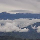 Piste de Gualchan à Chical, 1600 m : vue vers le Sud (Carchi, Équateur), 3 décembre 2013. Photo : J.-M. Gayman