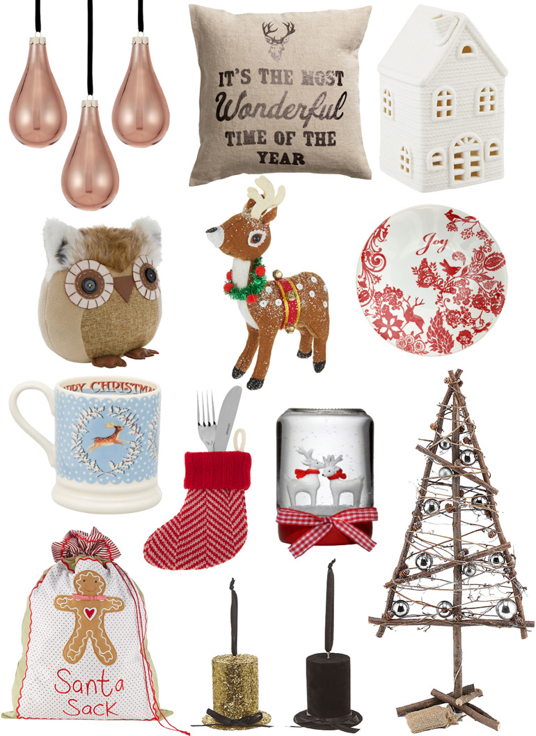 christmas high street decor wishlist