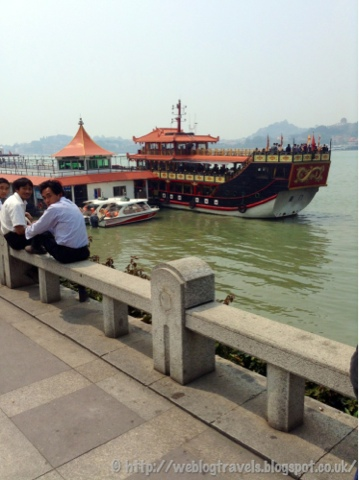 Xiamen ornate ferry
