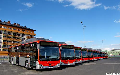 Flota nowych autobusów Mercedes Citaro CNG w MPK Rzeszów