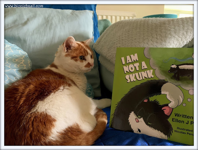 Book Reviews with Amber #164 ©BionicBasil® I Am Not A Skunk - Amber's Purrsonal Copy