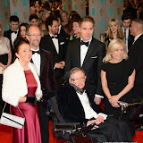 OIC - ENTSIMAGES.COM - Stephen Hawking and Jane Wilde Hawking  at the EE British Academy Film Awards (BAFTAS) in London 8th February 2015 Photo Mobis Photos/OIC 0203 174 1069