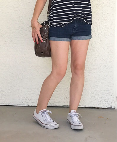 Thrifty Wife, Happy Life || converse summer look