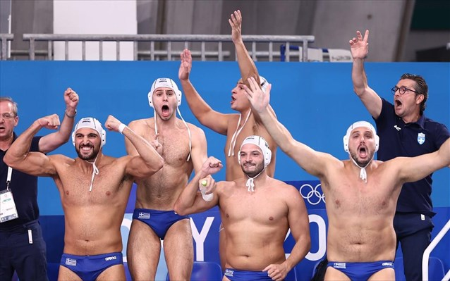 Ολυμπιακοί Αγώνες 2020-Πόλο: Στα ουράνια η Εθνική, εξασφάλισε το ασημένιο μετάλλιο και πάει φουλ για το χρυσό