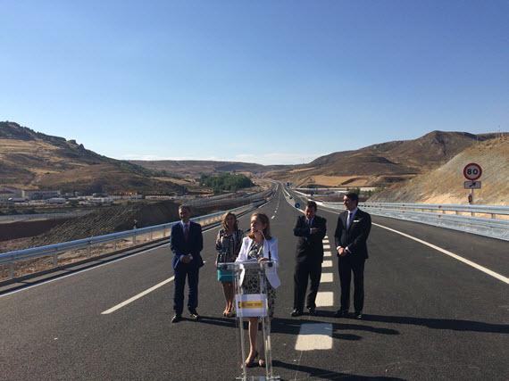 Madrid y Soria ya están conectadas íntegramente por autovía con el nuevo enlace entre la A-2 y la A-15