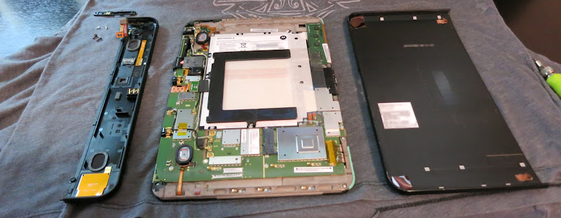 how-to take apart the Motorola XOOM & SparkFun Toolkit recommendation